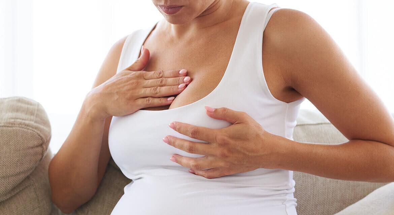 Як змінюються груди під час вагітності